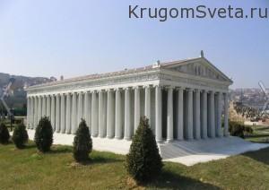 храм артемиды Турция Эфес