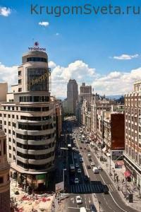 Гран-Виа в Мадриде-Достопримечательности Мадрида
