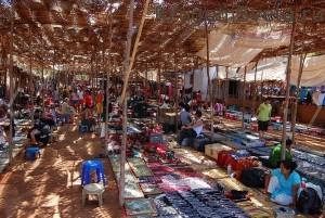 Блошиный рынок.Северный Гоа