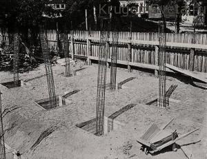Этапы строительства-Дом Наркомфина