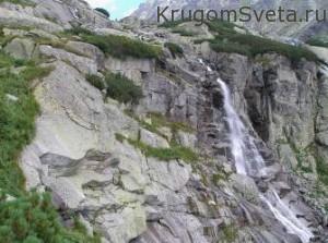 Горная речушка в Словакии-достопримечательности словакии