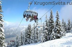 На горнолыжном курорте-достопримечательности словакии