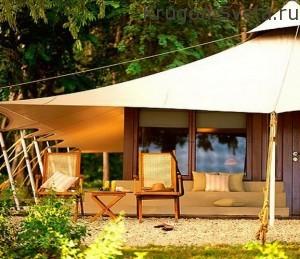 Остров Мойо отель Аманвана-бунгало