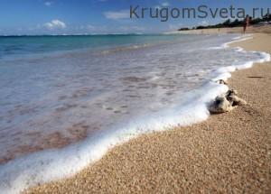 Ракушечный пляж-остров Мойо