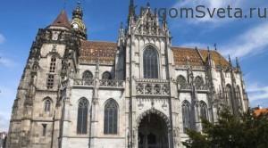 готический собор Святой Элизабет-достопримечательности словакии