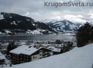 Горнолыжные курорты Австрии ледник Китцштайнхорн