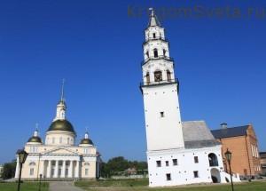 Наклонная башня в Невьянске