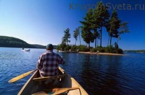Национальные парки Канады парк Алгонкин