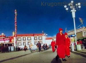 Тибет - смесь разных культур