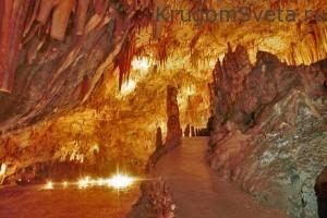 остров кефалония Пещера Дрогарати