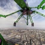Лас-Вегас - аттракцион Stratosphere Thrill Rides