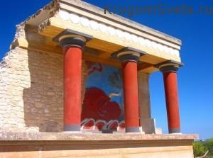 Остров Крит - Кносский Дворец