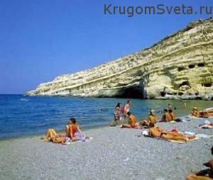Остров Крит - каменистые пляжи
