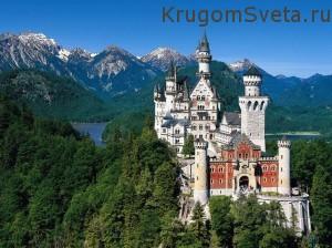 Нойшванштайн - замки Германии