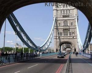 что посмотреть в Лондоне - на Тауэрском мосту