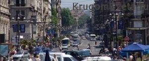 город Марсель - улица La Canebi