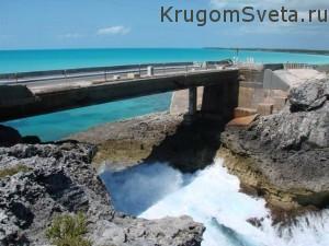 остров Эльютера - мост Гласс Виндоу