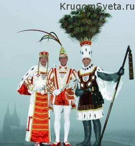 Кёльнский карнавал - Молодая леди Принц и Фермер