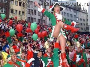 Кёльнский карнавал - национальная традиция
