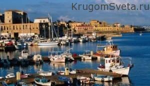 город ханья греция