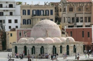 город ханья греция Мечеть Янычаров