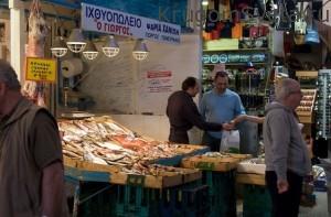 город ханья греция крытый рынок