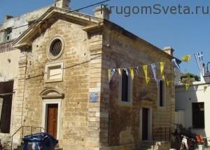 город ханья греция церковь Сан-Рокко