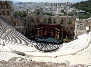театр Диониса - греция путешествие