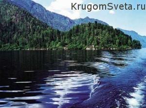Достопримечательности республики Тыва - Телецкое озеро