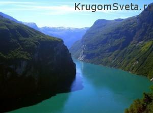 Фьорды Норвегии - Гейрангерфьорд