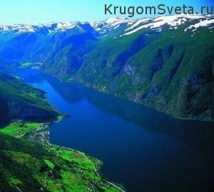 Фьорды Норвегии - Нэройфьорд