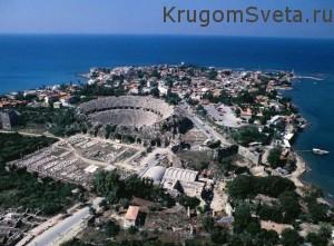Город Сиде - Турция