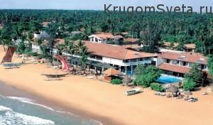 Курорты Шри-Ланки - пляж в Негомбо
