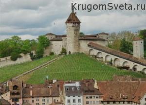 отдых в Швейцарии - крепость Мунот