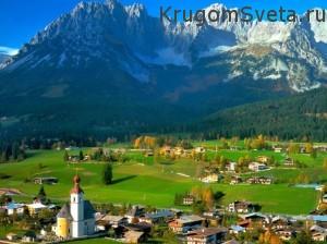 отдых в Швейцарии - весной очень красиво