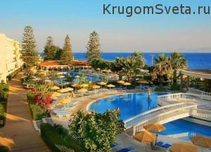 Остров Родос - отель в местечке Ялиссос