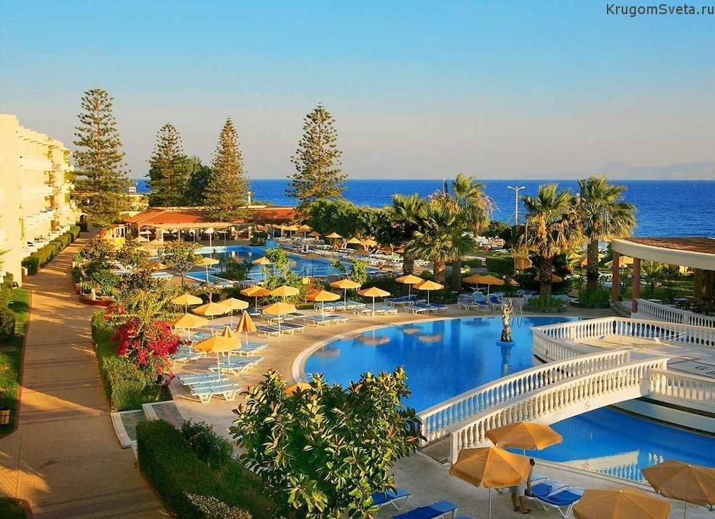 Остров Родос - отель в