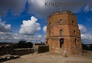 Поездка в Литву - башня Гядиминаса