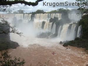 Туризм в Бразилии - водопад Гуайра