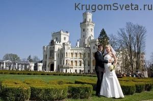 свадьба в Праге - счастливые молодые