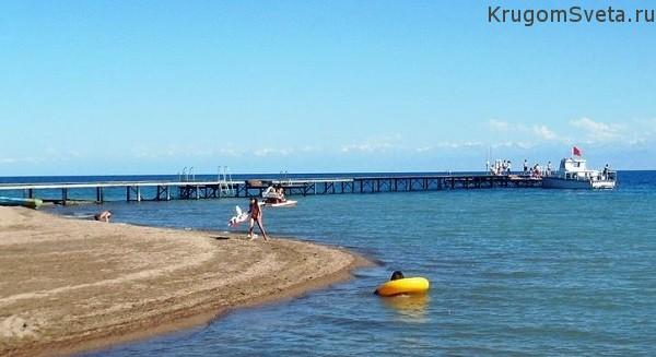 Озеро Иссык-Куль - жемчужина Кыргызстана