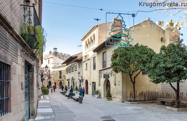 Испанская деревня - (Poble Espanyol)