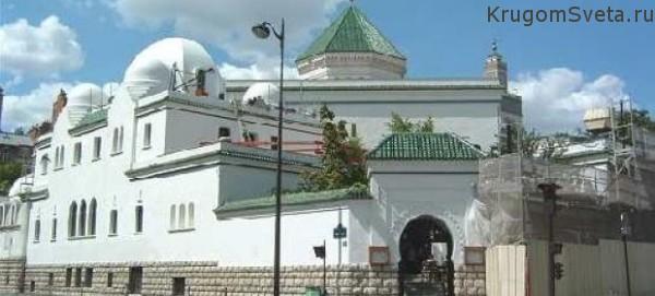 Соборная мечеть в Париже