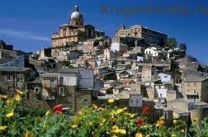 Кратко об Италии - Сициллийский пейзаж