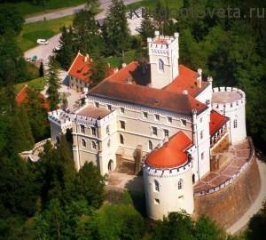 Туризм в Хорватии - Дворец Тракошчан