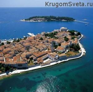 Туризм в Хорватии - город Пореч