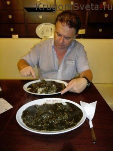кухня ГОА - вот такие размеры порций
