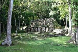 мексиканский штат Чьяпас - развалины Яксчилана