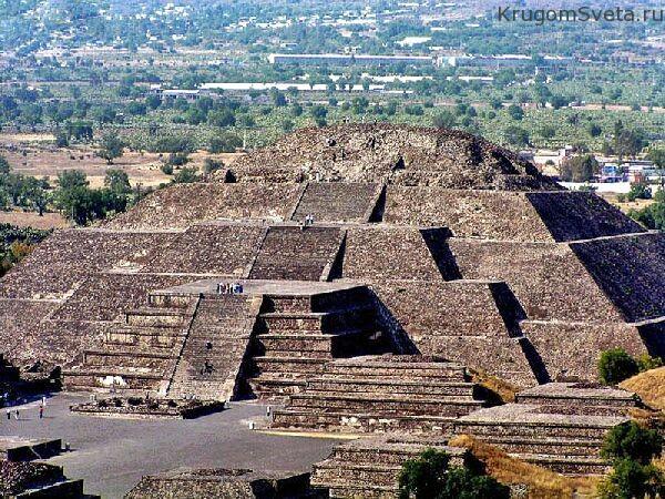 Teotihuacan (древняя столица ацтеков)