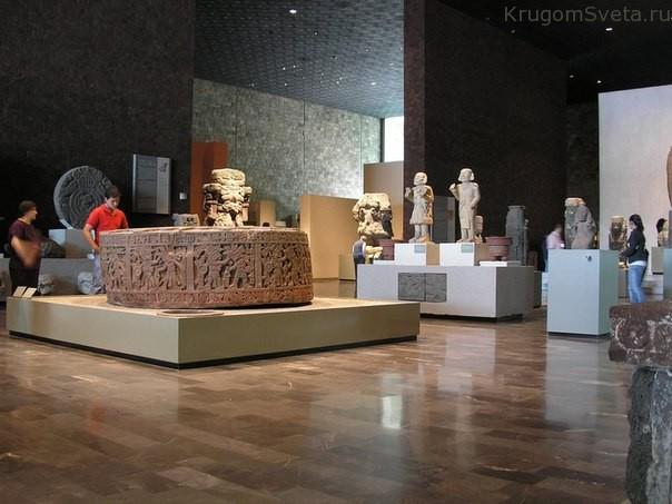 Антропологический национальный музей в Мехико